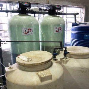 Xử lý nước lò hơi bằng trao đổi ion
