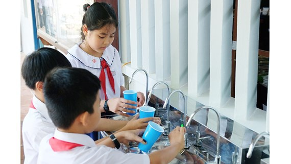 Lọc nước trường học và tiêu chí lọc nước